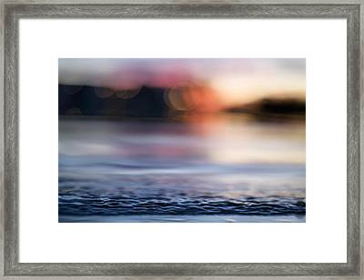 In-between Days Framed Print by Laura Fasulo