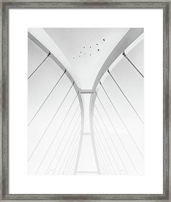 In Between It All Framed Print