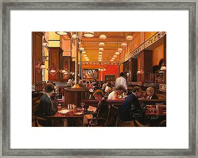 In Birreria Framed Print