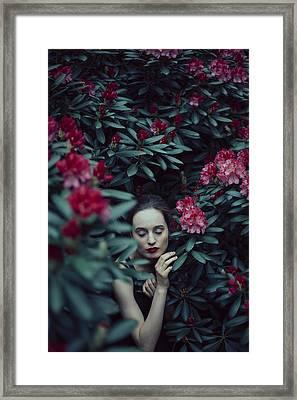 In Bloom II Framed Print by Art of Invi