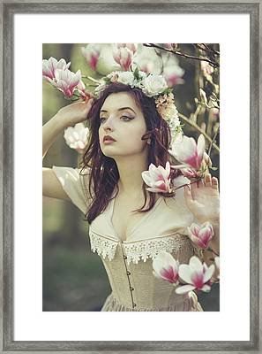 In Bloom Framed Print by Art of Invi