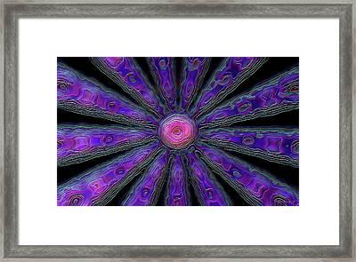 In Bud Framed Print by Wayne Bonney