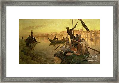 In Cairo Framed Print