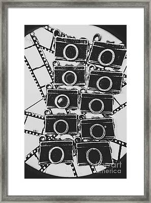 In Camera Art Framed Print