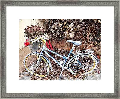 In Case You Need A Ride  Framed Print
