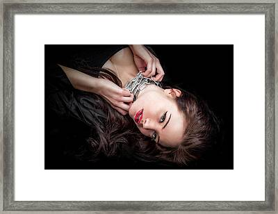 In Chains Framed Print by Rikk Flohr