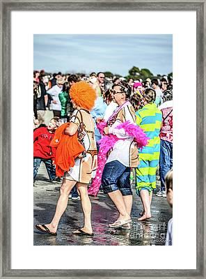 In Character Framed Print by Yvette Wilson