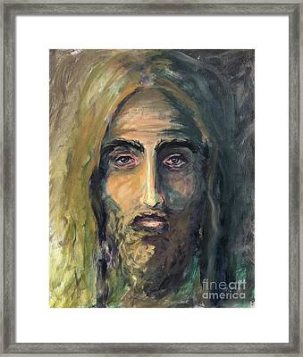 In Christ Alone Framed Print
