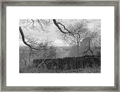 In December. Framed Print