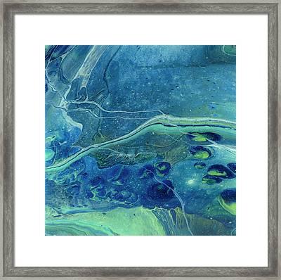 In Depths Unknown Framed Print
