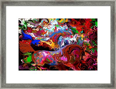 Framed Print featuring the digital art In Dreams by Loxi Sibley