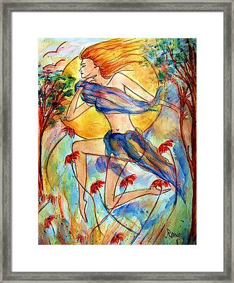 In Dreams Framed Print by Robin Monroe