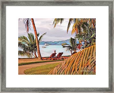 In Fiji  Framed Print