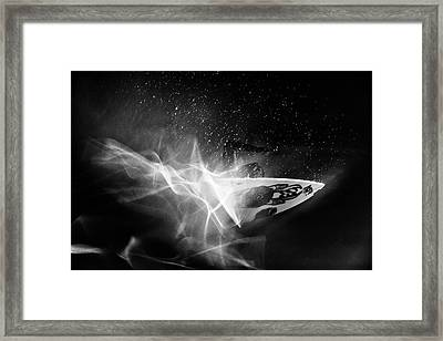 In Flames Framed Print
