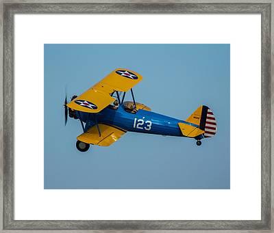 In Flight 2 Framed Print