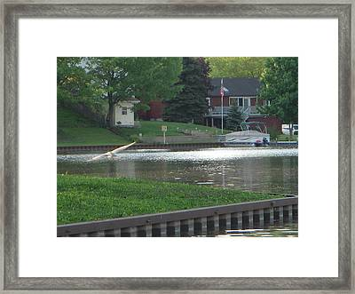 In Flight Framed Print by Deborah Finley