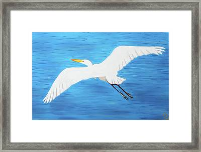 In Flight Entertainment Framed Print