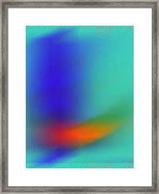 Framed Print featuring the digital art In Flight by Prakash Ghai