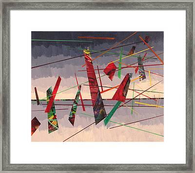 In Flight Framed Print by Rollin Kocsis