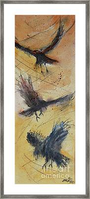 In Flight Framed Print by Ron Stephens