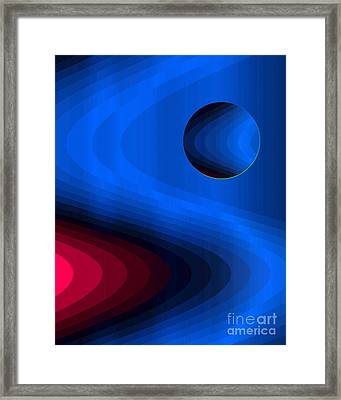 In Flow Framed Print