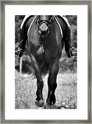 In Forward Motion Framed Print by JAMART Photography