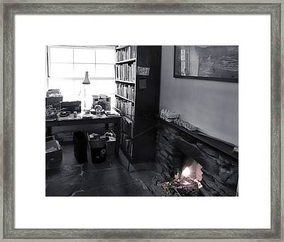 In From The Cold Framed Print