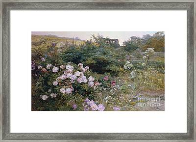 In Full Bloom  Framed Print by Henry Arthur Bonnefoy