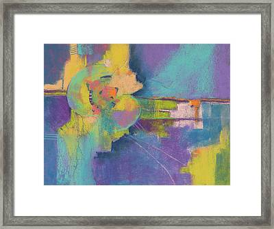 In Gear Framed Print