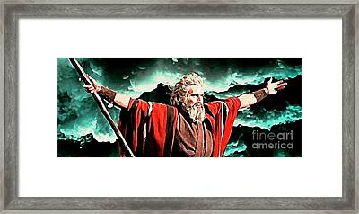 In God All Things Are Possible Framed Print by John Malone