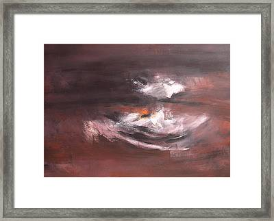 In Grey 2 Framed Print by DEVARAJ DanielFranco