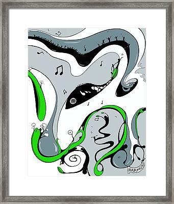 In Harmony Framed Print