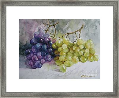 Framed Print featuring the painting In Harmony by Elena Oleniuc