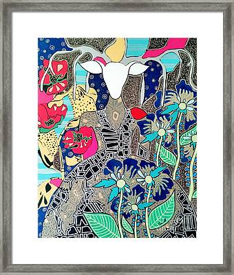 In Her Element Framed Print
