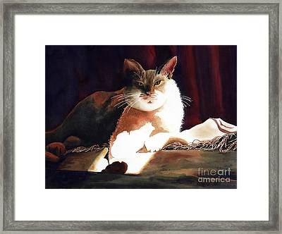 In Her Glory II               Framed Print by Kathy Braud