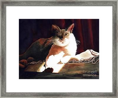 In Her Glory II               Framed Print