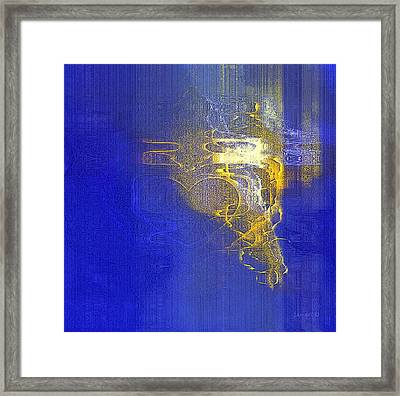 In Him - Loving Is Made Easy Framed Print by Fania Simon