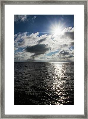 In Key West The Sun Is A Star Framed Print by Bob Slitzan