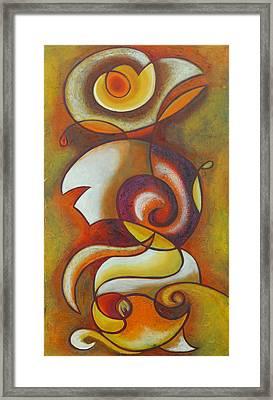 In Love Framed Print by Marta Giraldo