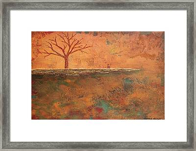 In Love With Color Framed Print