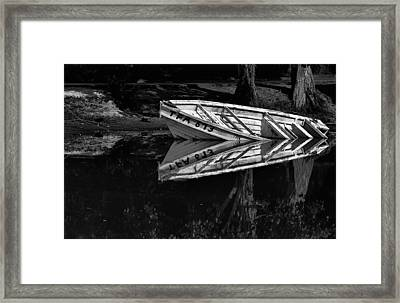 In Love With Myself Framed Print by Sarita Rampersad