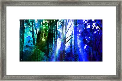In Love With Nature Framed Print