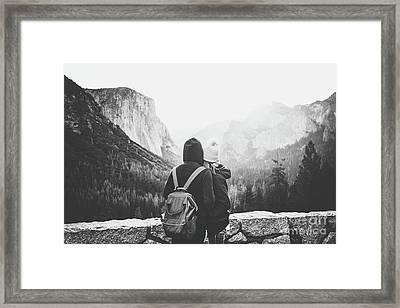 Yosemite Love Framed Print by JR Photography