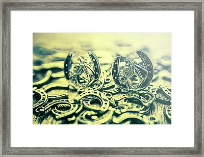 In Luck Of The Horse Race Framed Print by Jorgo Photography - Wall Art Gallery