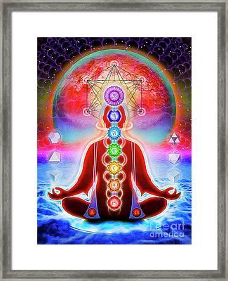 In Meditation Framed Print by Dirk Czarnota