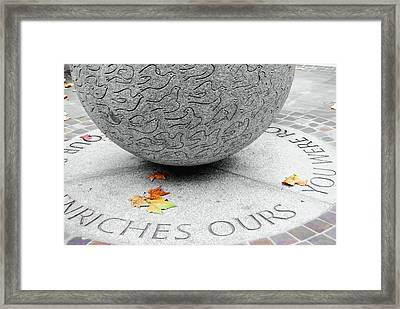 Peace Doves Framed Print by JAMART Photography