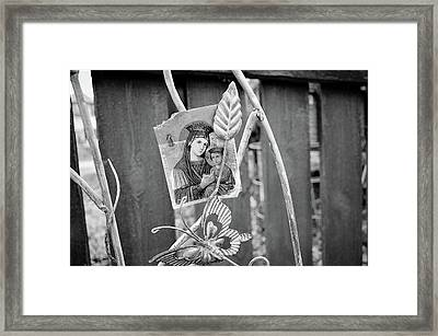 Framed Print featuring the photograph In Memory Of by Jeanette O'Toole