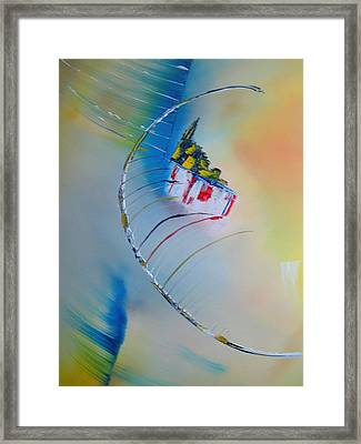 In Motion Framed Print by David Hatton