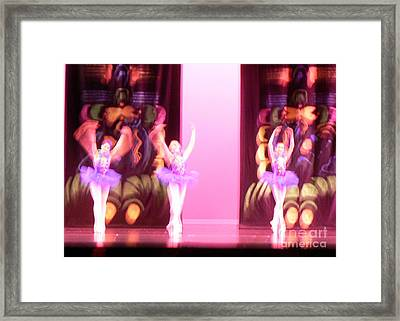 In Motion Framed Print by Elizabeth Fontaine-Barr