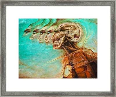 In Motion Framed Print by Robert Anderson
